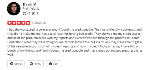 the credit people yelp review